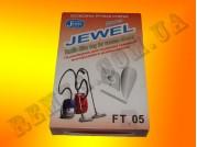 Мешок-пылесборник многоразовый Jewel FT 05