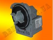 Насос сливной Askoll М220 Electroluz, Zanussi, Whirlpool под 3 защелки, клеммы сзади, совмещены