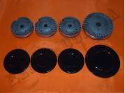 Набор горелок с крышками для газ. плиты Nord 2002-2011